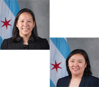 Jennie Huang Bennett, Chief Financial Officer and Susie Park, Budget Director