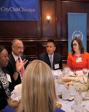 On The Table Breakfast: Building Peace in Chicago